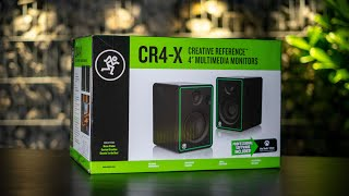 Mackie CR4-X Multimedia Monitors - What's inside the Box? (Unboxing)
