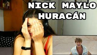 REACCIÓN: HURACÁN - NICK MAYLO | Cristina Black & White