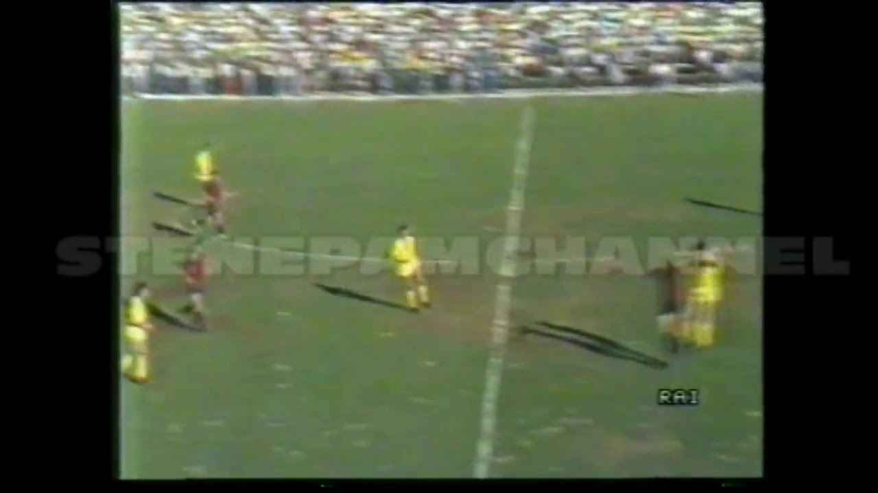 CAMPOBASSO HELLAS VERONA 0 2 COPPA ITALIA 1986 87 DOPPIETTA DI PAOLO ROSSI  - YouTube