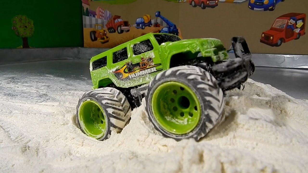 Monster Truck Stunts Videos For Kids Youtube