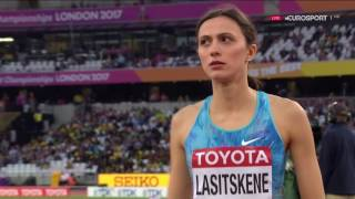 Mariya Lasitskene 1.92Q London World Championship (Qualification Women High Jump)
