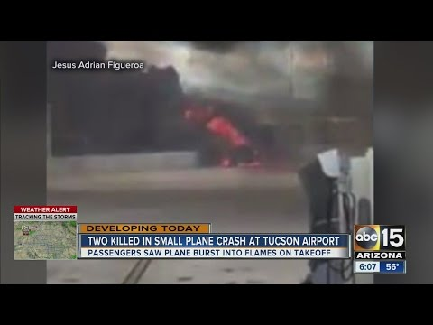 Two major incidents in Tucson Monday including a deadly plane crash