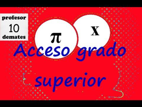 Prueba De Acceso A Ciclos Formativos De Grado Superior Matemáticas Andalucía Junio 2015 2 Parte 01