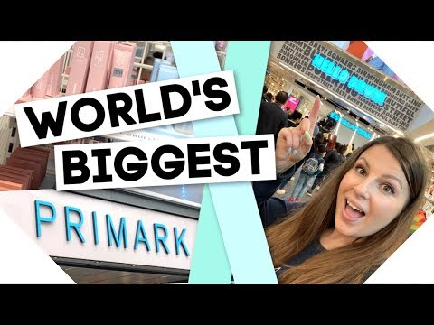 Worlds Biggest Primark / Come Shop With Me!