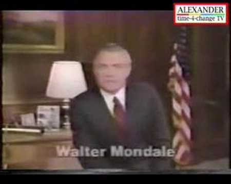 US Democrats - Walter Mondale 1984 Video 8
