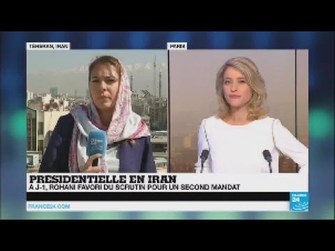 Présidentielle en Iran : Hassan Rohani favori du scrutin pour un second mandat
