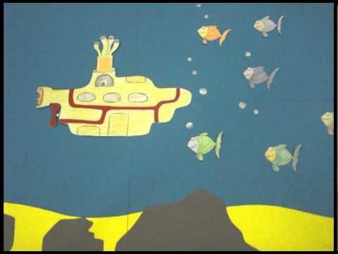 Yellow Paper Submarine