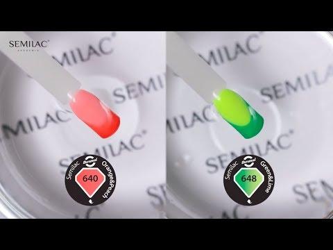 Kolor Zmieniajacy Się Pod Wpływem Temperatury I światła! || Semilac Quick Edu #21 (ENG)