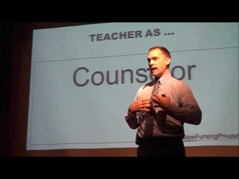 Role of a Teacher | John Calhoun | TEDxTaipeiFuhsingPrivateSchool
