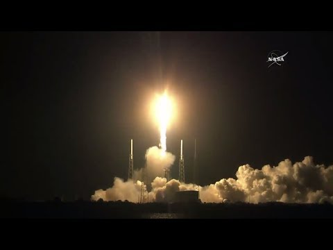Launch of SpaceX CRS-15 with ECOSTRESS (full broadcast)