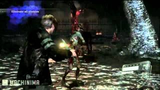 Resident Evil 6 Leon S Kennedy Character Gameplay