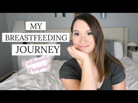 MY BREASTFEEDING JOURNEY | WHY I CHOSE TO EXCLUSIVELY PUMP | EXCLUSIVELY PUMPING SERIES thumbnail