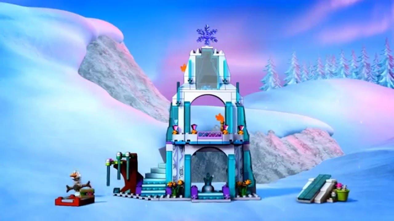Wonderbaarlijk LEGO Disney Frozen Elsa's ijskasteel 41062 - YouTube GK-88