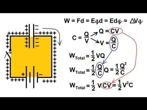 Physics - Capacitors (7 of 8) Energy Stored in a Capacitor