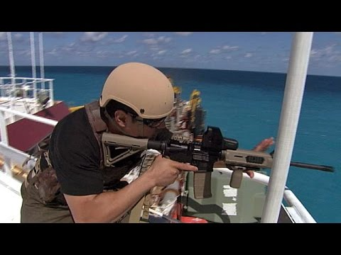 Somali Pirates VS Ship Security compilation