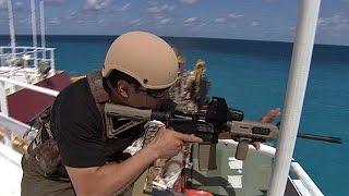Somali Pirates VS Ship Security compilation