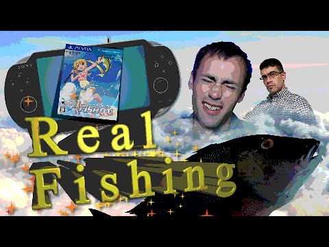 Let's Try Bass Fishing Fish On Next Review PS Vita - Space Asylum / Mike Krow & Reuburger