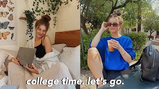 my first week of COLLEGE vlog!