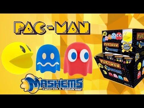 Pac-Man Mashems - Unboxing Mashems! Ultra Rare Found! Fun With Ben
