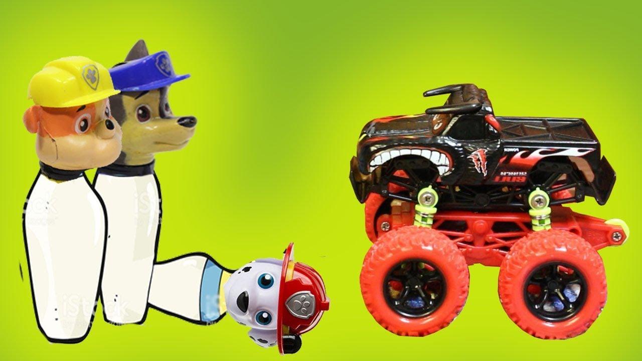 Мультики для детей. Игрушки из мультфильмов Щенячий ...