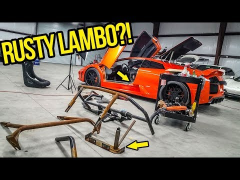 I THREW AWAY All The RUSTY Fast & Furious Movie Parts On My Cheap Lamborghini (NOTHING LEFT!)