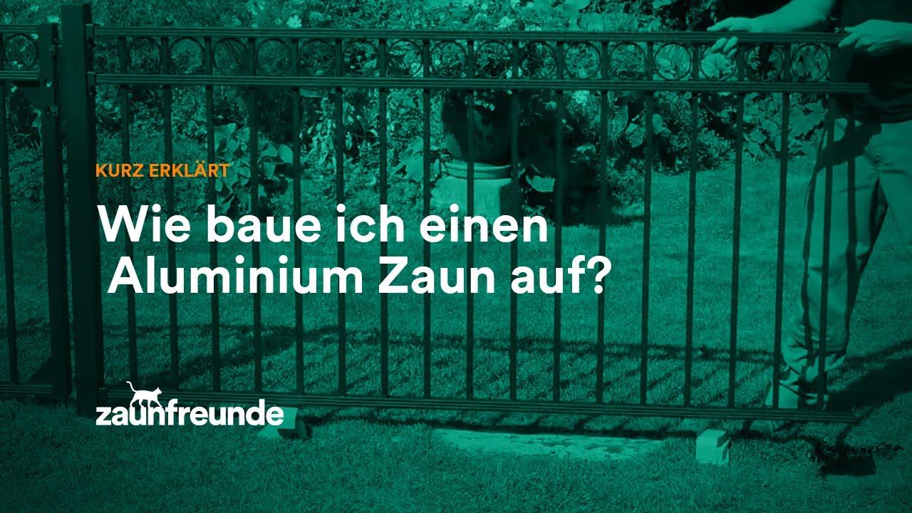 schmuckzaun circle und schmuckzaun chaussee aus alu. Black Bedroom Furniture Sets. Home Design Ideas