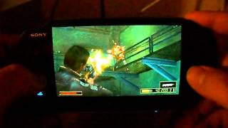 Resistance retribution- PSP on PS Vita(Dual analog)