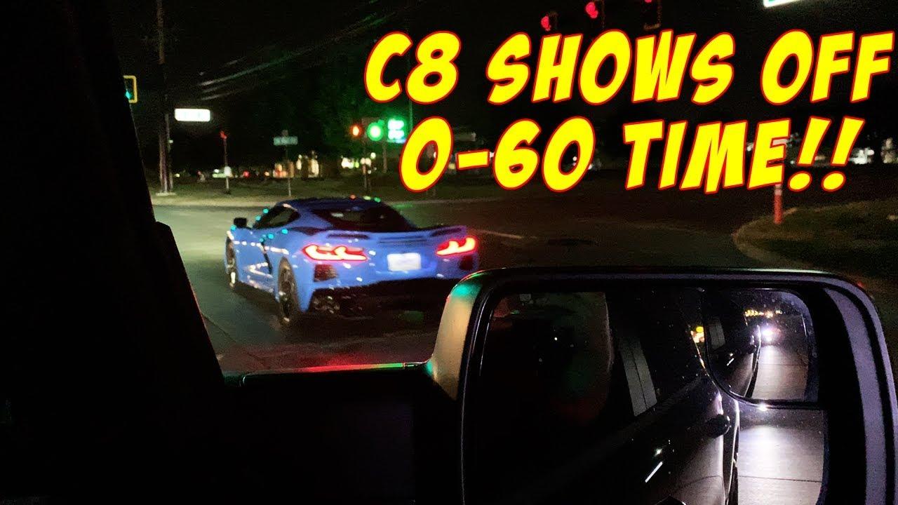 0 60 Full Send In 2020 Corvette C8 Midengine Car