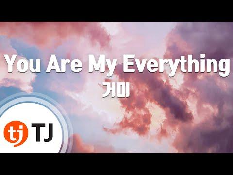 [TJ노래방] You Are My Everything(태양의후예OST) - 거미(Gummy) / TJ Karaoke