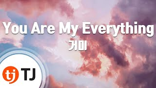 [TJ노래방] You Are My Everything(태양의후예OST) - 거미(Gummy) / TJ Karaoke