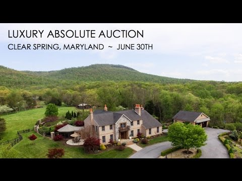 76 Acre Maryland Farm With Luxury Home For Sale [Absolute Auction]   YouTube