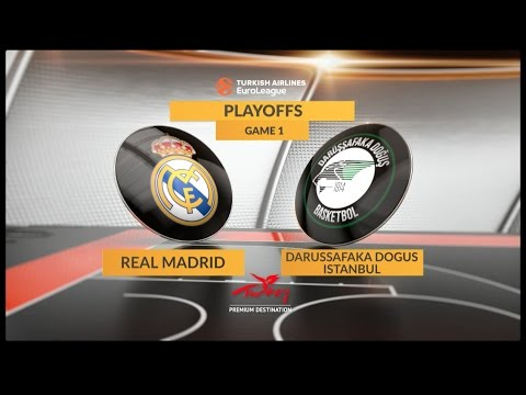 Highlights: Real Madrid-Darussafaka Dogus Istanbul, Game 1