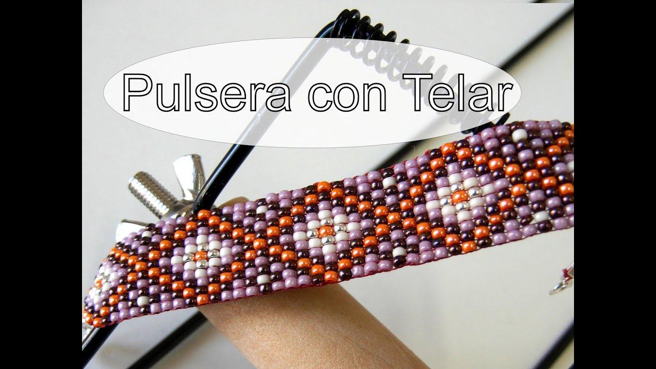 4d3ec08c6a97 Abalorios Manualidades - Pulsera de Miyuki con Telar