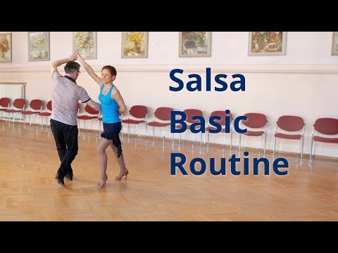 Salsa Basic Routine with Hammer Lock