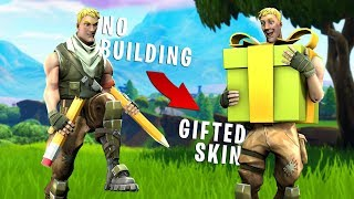He GIFTED me a $500 Skin if We Completed this Challenge - Fortnite Challenge