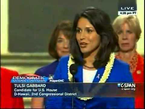 Watch: Tulsi Gabbard speaks at DNC
