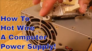 Computer Power Supply to DC Project Power Supply - DIY Project