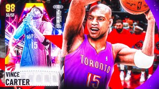 GALAXY OPAL VINCE CARTER GAMEPLAY! HALF MAN HALF AMAZING WILL EXPOSE ANY CARD! NBA 2k21 MyTEAM