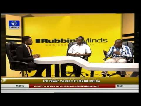 Rubbin Minds: Focus On The Brave World Of Digital Media -- 26/07/15 Part 1