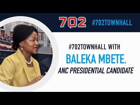 702 TownHall with Baleka Mbete