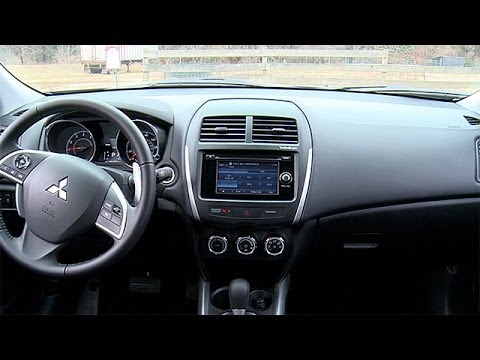 2014 mitsubishi outlander sport interior review