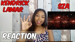 KENDRICK LAMAR,SZA - ALL THE STARS- REACTION MUSIC VIDEO