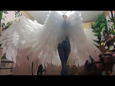Крылья ангела для танцев #ЛисьяМастерская