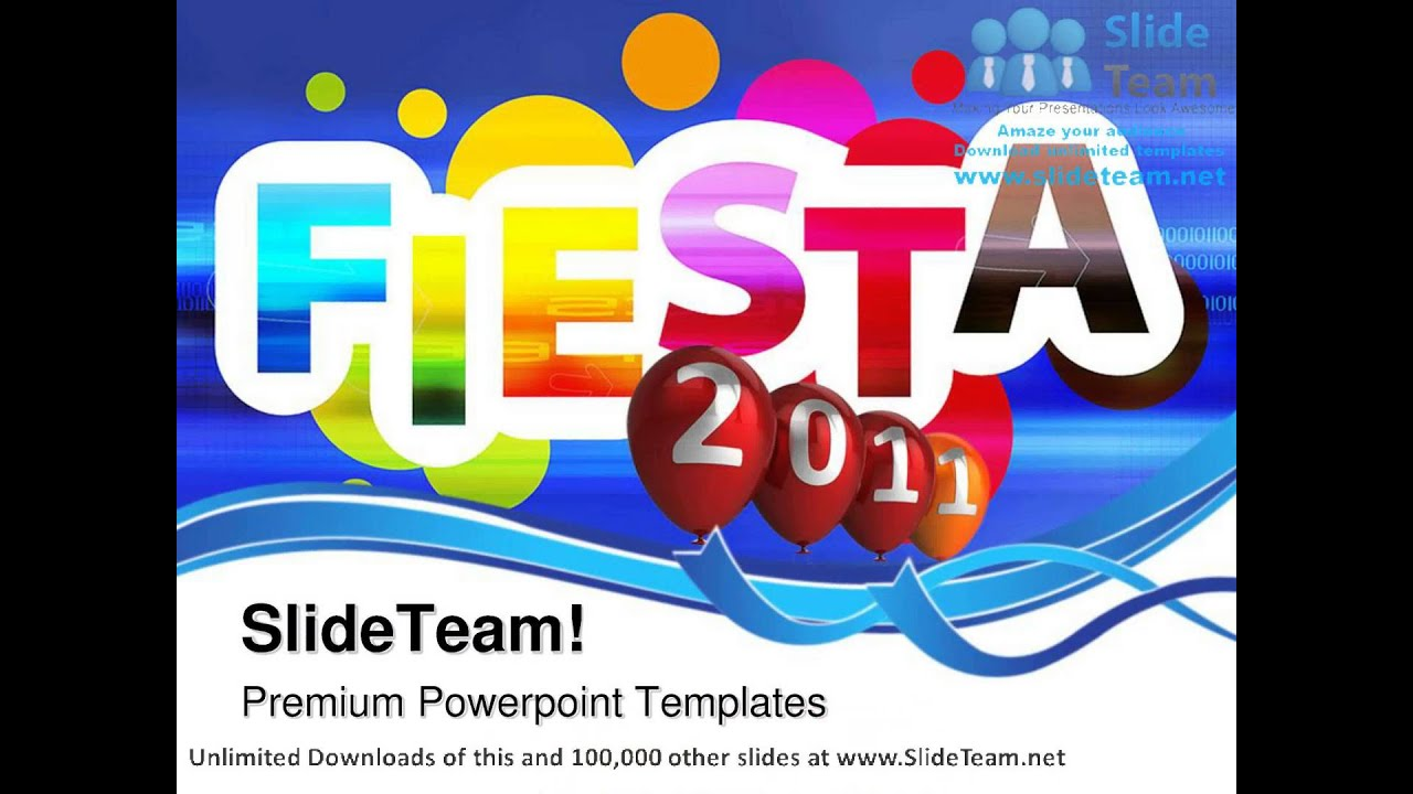 Fiesta live 2011 events powerpoint templates themes and backgrounds fiesta live 2011 events powerpoint templates themes and backgrounds graphic designs youtube toneelgroepblik Image collections