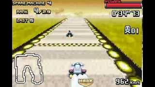 F-Zero: GP Legend GBA silver cup expert 60fps