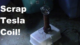 So you want a tesla coil and you want it NOW. Give this project a t...