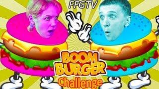 Download БУРГЕР БУМ ЧЕЛЛЕНДЖ Играем в игру Boom Burger МАМА против ПАПЫ У кого самый сильный Бургер? от FFGTV Mp3 and Videos