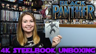Black Panther Best Buy Exclusive 4K Steelbook Unboxing