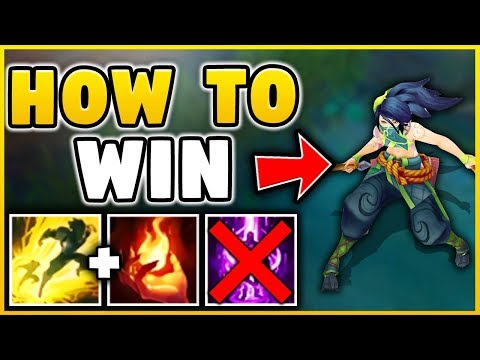HOW TO WIN EVERY GAME WITH SEASON 8 AKALI! ULTIMATE REWORKED AKALI CARRY!!! - League of legends