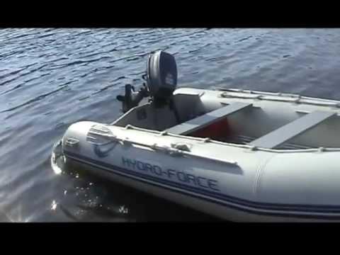 2 3hp Motor On Bestway Inflatable Boat Doovi